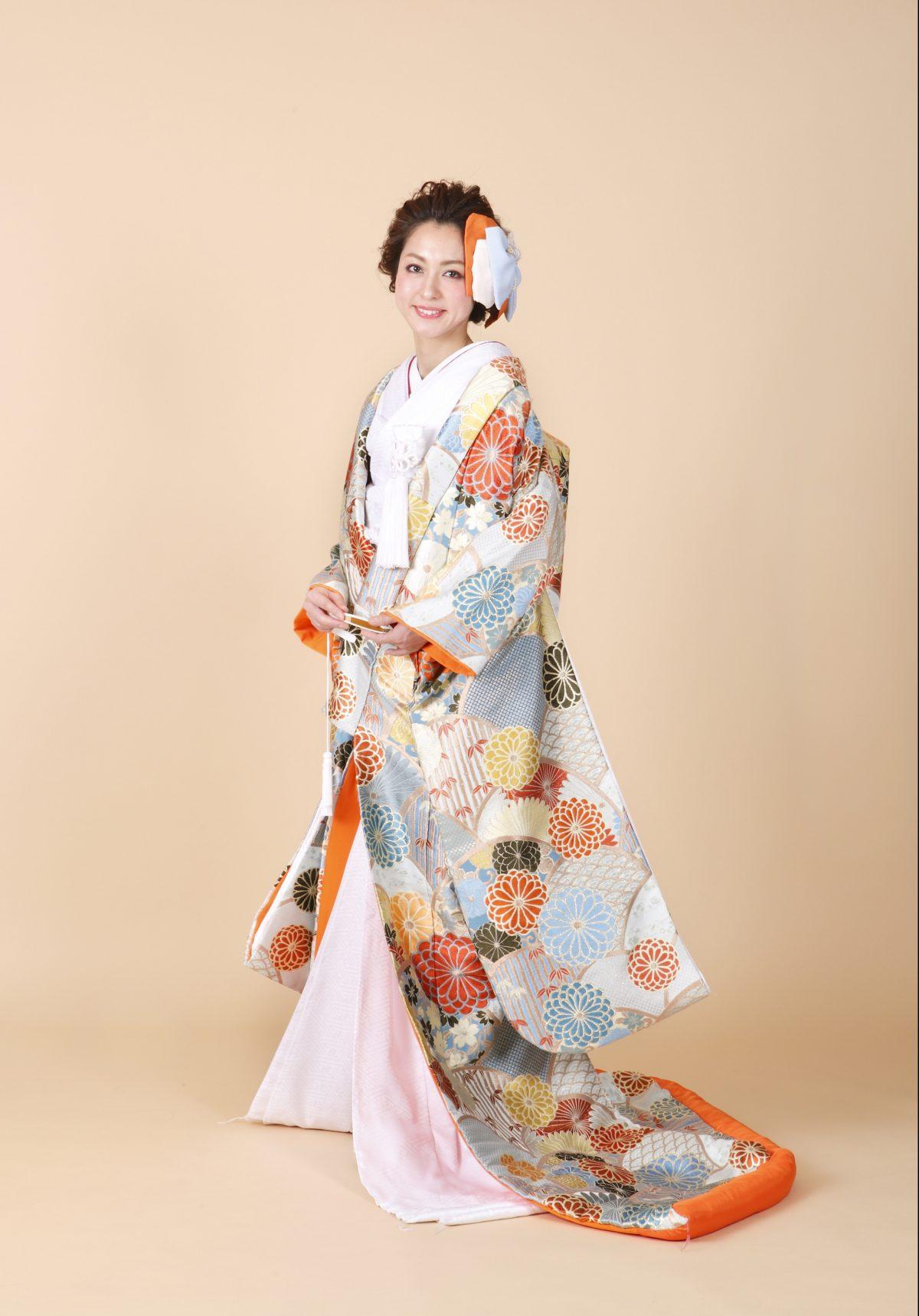 菊花青海紋
